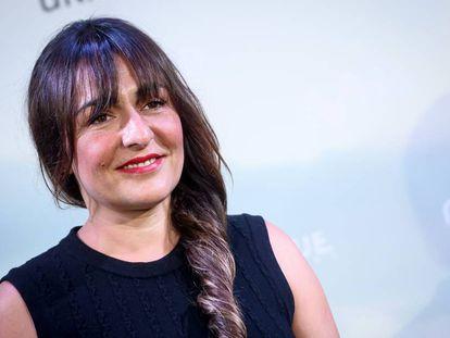 Candela Peña el pasado 5 de junio en la presentación de 'Hierro' en Madrid.