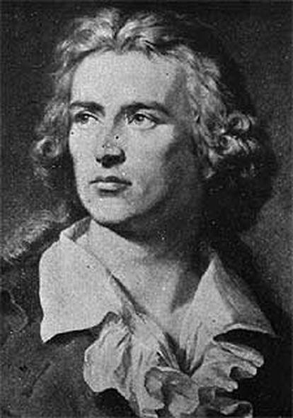 El poeta alemán Friedrich Schiller.