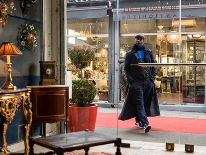 Omar Sy en un instante de la primera temporada de 'Lupin'.