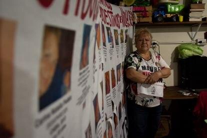 Margarita Meira es la fundadora de la ONG Madres víctimas de trata. En marzo del 91 secuestraban a su hija, Graciela Susana Bekter, de tan solo 17 años. Pincha en la imagen para ver la fotogalería completa.