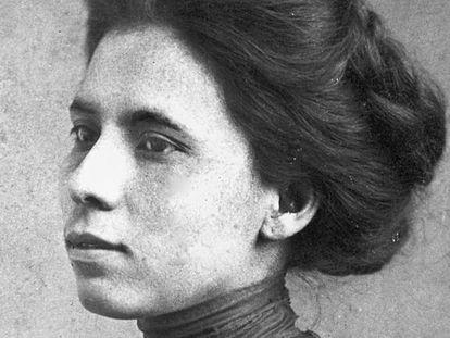 La periodista Jovita Idár, alrededor de 1905.