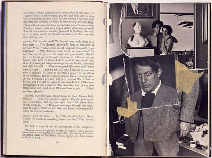 'Collage' realizado por Dalí en 1966 en homenaje a Picasso.