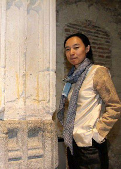 Lu Wenyu, en Segovia.