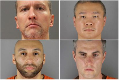 Former Minneapolis cops involved in Floyd's death: Derek Chauvin, Tou Thao, Thomas Lane, and J. Alexander Kueng.