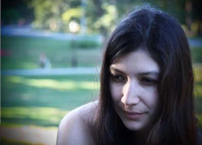 Jazmina Barrerz escribió 'Línea nigra' (Pepitas editorial) durante su embarazo y los primeros meses de vida de su bebé,