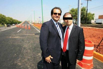 El empresario Armando Hinojosa Cantú en una fotografía de redes sociales.