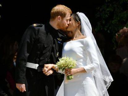 Así se ha vivido el enlace entre el príncipe británico y la actriz estadounidense