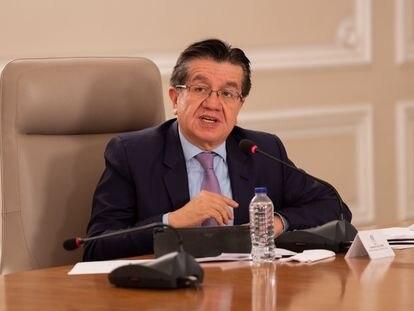 Fernando Ruiz, ministro de Salud de Colombia