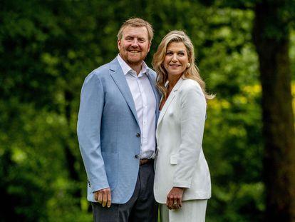 Guillermo y Máxima de los Países Bajos, el pasado mes de julio.