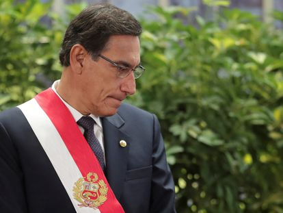 El presidente peruano, Martín Vizcarra, en una imagen de archivo.