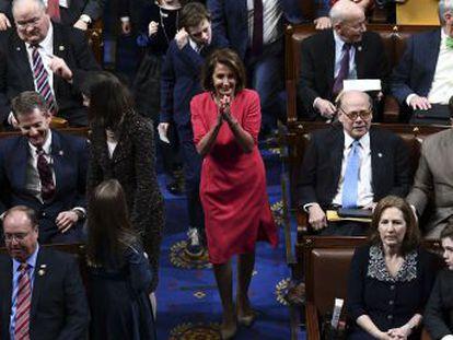 La veterana congresista, elegida líder de la Cámara de Representantes, pilotará la ofensiva contra el presidente en la segunda mitad de su mandato