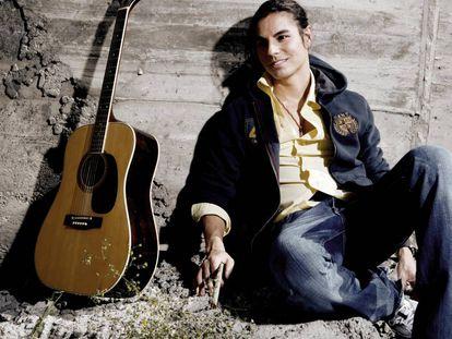 Julio José Iglesias, también conocido como Julio Iglesias Jr., en una imagen promocional de 2008.