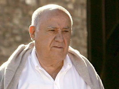 Amancio Ortega, cofundador del grupo Inditex, en una imagen de archivo.