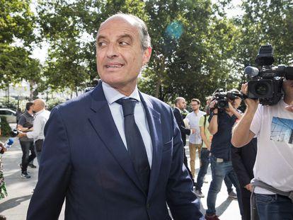 El expresidente de la Generalitat Francisco Camps, en junio de 2019.