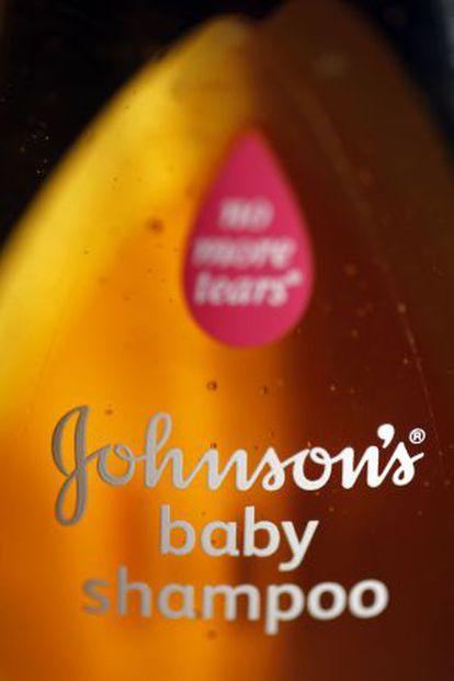 Champú de Johnson & Johnson para niños.