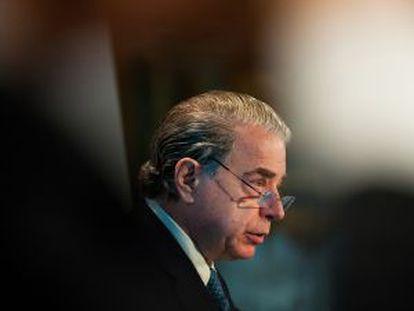 Ricardo Salgado, presidente del Banco Espirito Santo.