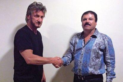 Sean Penn y El Chapo Guzmán.