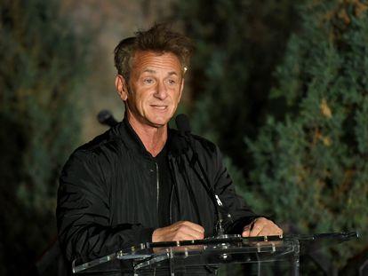 Sean Penn, en Los Ángeles, el pasado marzo.