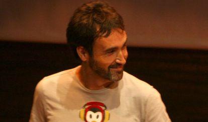 El cantautor Òscar Briz.