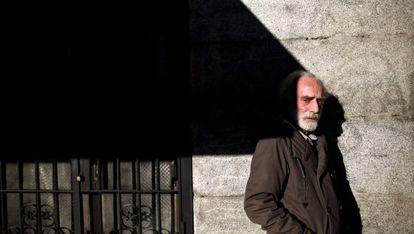 Javier Krahe, fotografiado esta semana en Madrid.
