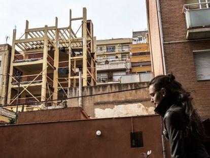 Estado actual de la construcción ecológica de Gràcia