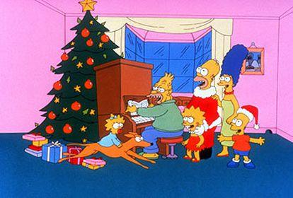 Antena 3 ha programado una edición especial de <i>Los Simpson</i> para Nochebuena.