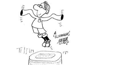 Forges homenajea a Luis Molowny, 'El Mangas', ex jugador del Real Madrid