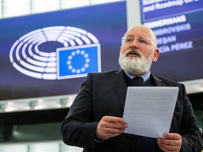 Frans Timmermans, vicepresidente de la Comisión Europea encargado del Pacto Verde.