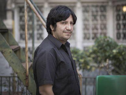 El escritor chileno Alejandro Zambra, el pasado mayo, en Barcelona.