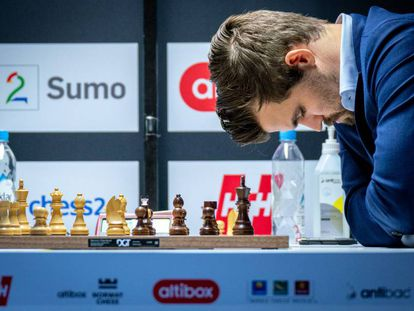 Magnus Carlsen, el pasado octubre durante el torneo Altibox Norway Chess, en Stavanger (Noruega)