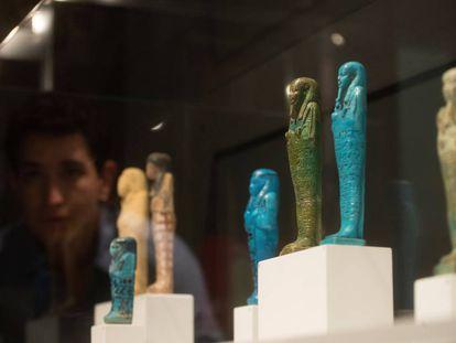 Imagen de la exposición 'Dones i homes de l'Antic Egipte'.