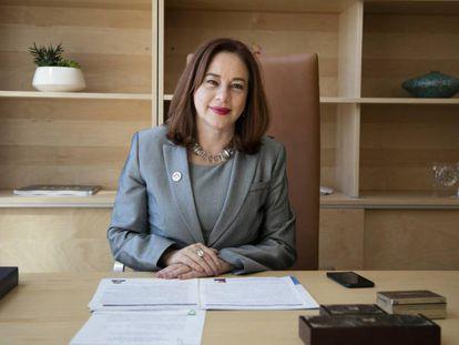 La candidata a la secretaría general de la OEA, María Fernanda Espinosa.