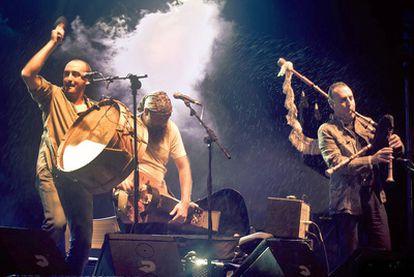 Actuación de Os Cempés en pasado mes de octubre en Lugo.