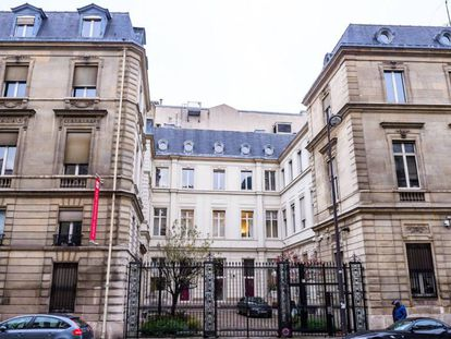 La antigua sede del Partido Socialista francés en la calle Solférino, vendida tras la debacle electoral de 2017