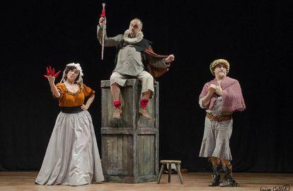 Imagen promocional de la obra de teatro ' Sancho en Barataria.