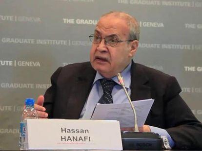 El filósofo Hasan Hanafi.