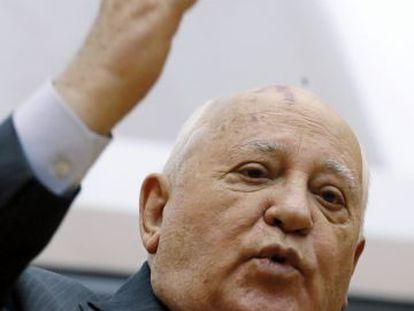El último dirigente soviético Mijaíl Gorbachov.