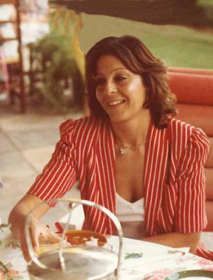 Ana Cristina Placer Peralta, esposa de Cesar Alierta.