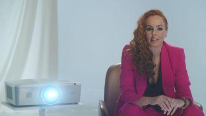 Rocío Carrasco, en un instante del documental 'Rocío, contar la verdad para seguir viva'.