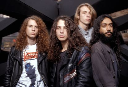 Soundgarden en 1989.