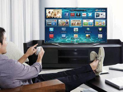 Imagen promocional de una 'smart TV'.