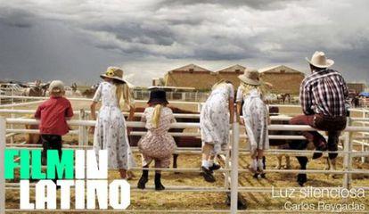 Uno de los carteles de la plataforma Filminlatino