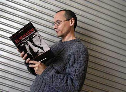 El reportero Joe Sacco, en el Salón del Cómic de Barcelona, en 2004.