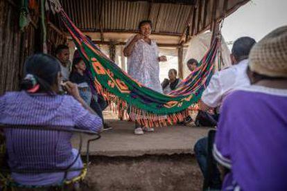 Defensoras de derechos humanos, de la tierra y ambientales en La Guajira, Colombia