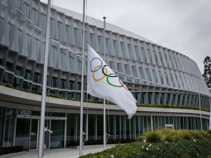 Imagen de las oficinas del Comité Olímpico Internacional (COI) en Lausana (Suiza).