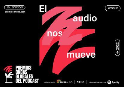 Premios Ondas Globales del Podcast, organizados por PRISA Audio y Cadena SER, en colaboración con Spotify.