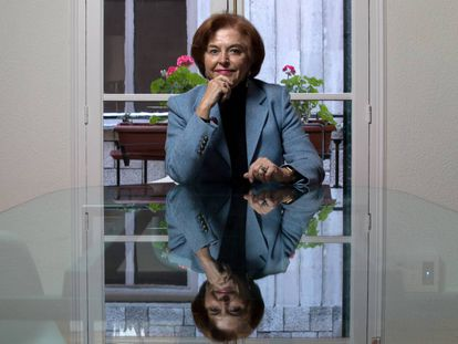 Araceli Pereda, en la sede de Hispania Nostra.