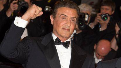 Sylvester Stallone, en el festival de Cannes, el pasado mayo.