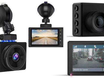 De entre los cuatro modelos analizados, se encuentran lad 'dash cam' Garmin Dash Cam 56 y Awasafe ES-Q8P.