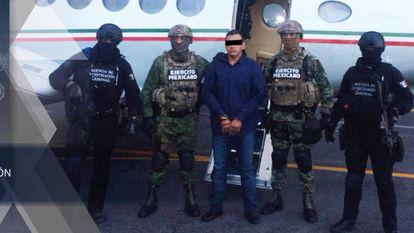 El capo José Guadalupe Rodríguez, detenido por el Ejército.